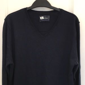 Zadig & Voltaire Navy Skull Sweater Size L